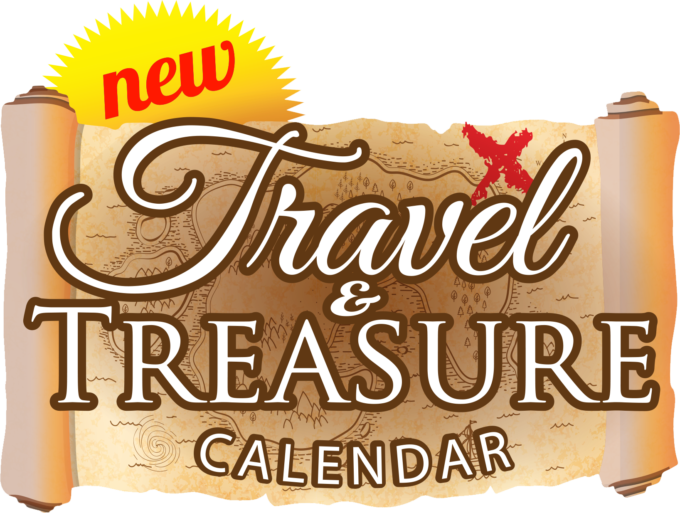 Travel & Tresaure Calendar